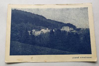 Pohled Lázně Kynžvart 1947