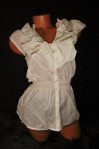 HM krásná vypasovaná dámská košile halenka bez rukávů 40 M
