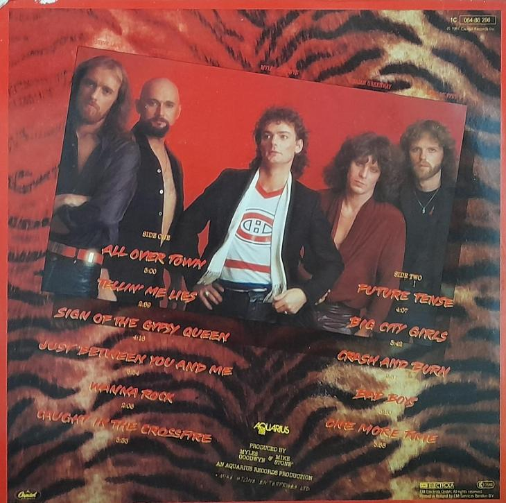 APRIL WINE-THE NATURE OF THE BEAST - Hudba