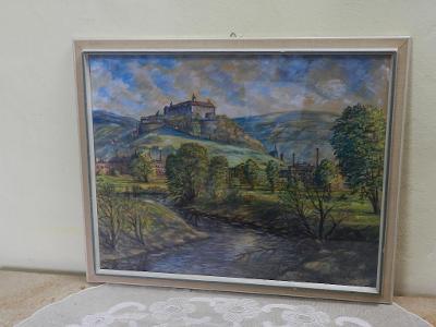Zajímavý Obraz Bratislava Slovensko Signováno