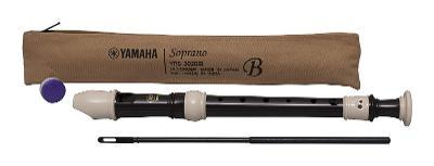 Yamaha YRS 302B III -- Zobcová flétna -- Soprán