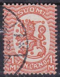 Finsko - státní znak, lev