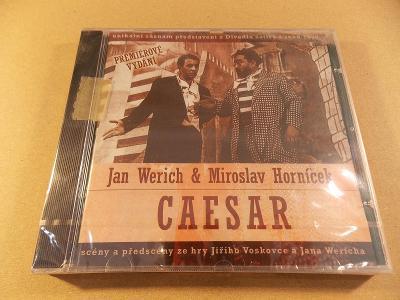 Werich & Horníček CAESAR Voskovce a Wericha záznam z 1955 CD 2004 nové