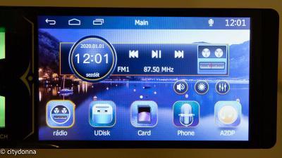 Autorádio RK-7159A  dotykové 7'' 2 DIN Bluetooth USB/FM/MP3 /Od 1Kč