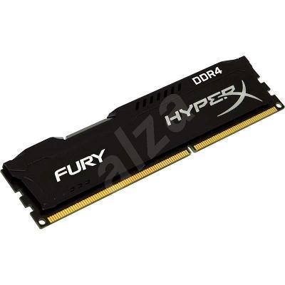 PC paměť HyperX 16GB DDR4 2400MHz PC4-19200 CL15 Fury Black Series