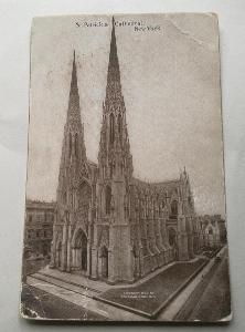 Pohled  New York 1913