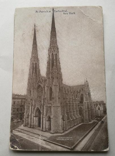 Pohled  New York 1913 - Pohlednice