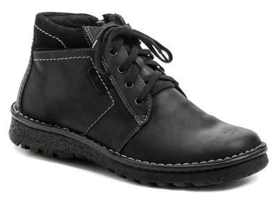 Kotníkové pánské zimní boty Wawel PA362 černá, vel.40, NOVÉ