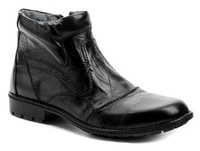 Kotníkové pánské zimní boty Wawel RE203-G černá, vel.43, NOVÉ