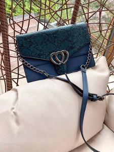 Stylová kabelka s řetízkem přes rameno / crossbody