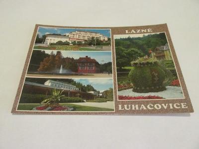 Prodávám pohlednici  Lázně Luhačovice 1999, barev.