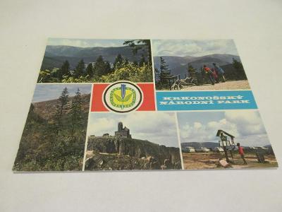 Prodávám pohlednici Krkonošský národní park 1975, barev.