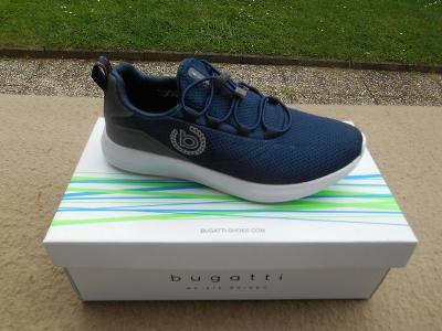 Nové XXL pánské volnočasové boty - tenisky zn.: Bugatti - vel. 46