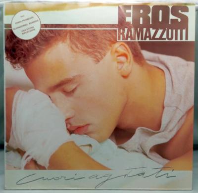 Eros Ramazzotti – Cuori Agitati 1986 Germany Vinyl LP 1.press