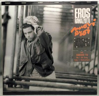 Eros Ramazzotti – Nuovi Eroi 1986 Germany Vinyl LP 1.press