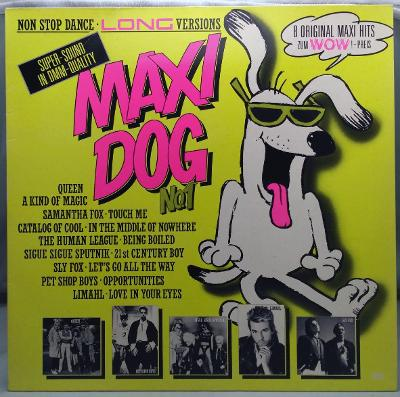 Maxi Dog No. 1 1986 Germany Vinyl LP 1.press