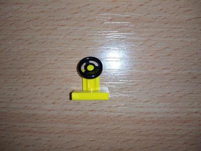 Lego díl 3829 - volant žlutý
