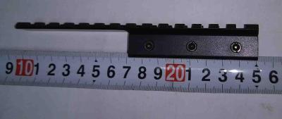 ADAPTÉR 11mm NA montáž 22mm Puškohled, kolimátor délka 15cm