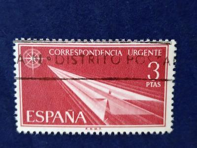 Španělsko, letecká expresní pošta