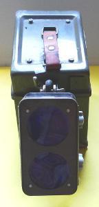 Stará signální svítilna - baterka - lucerna - dráha, železnice