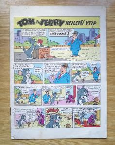 Časopis  Tom a Jerry - Nejlepší vtip
