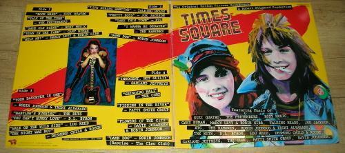Times Square - Ramones,Patti Smith,Cure (1980) 2xLP ,JAPAN ,TOP STAV!!