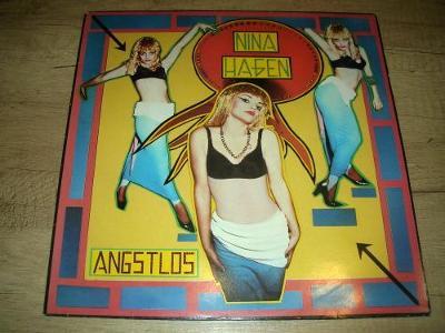 Nina Hagen – Angstlos (1983) 1.Press ,TOP STAV!!!
