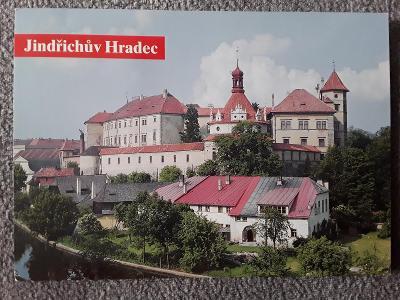 Pohlednice zámek JINDŘICHŮV HRADEC