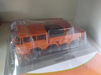 Tatra 6x6 tahač 1:43 nový