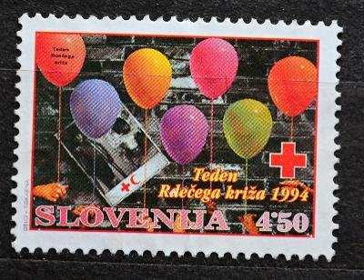 SLOVENIJA-Slovinsko, 1994.Rotez Kreuz, Mi.7 / KT-245