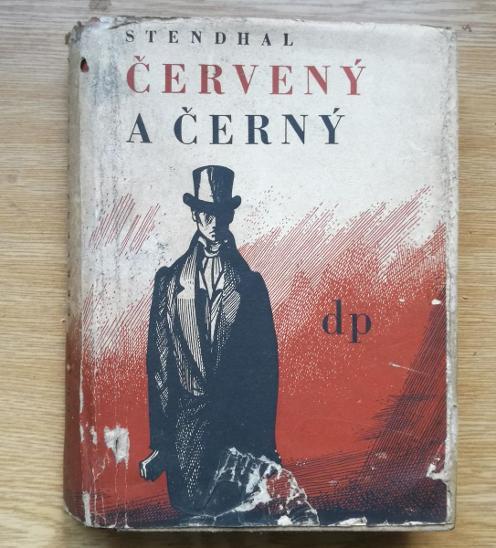 KNIHA Červený a Černý 1950 - Knihy