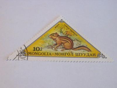 Prodávám známky  Mongolsko 1973, Zvířata - Hlodavci