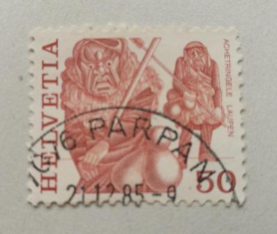 Známka - Švýcarsko