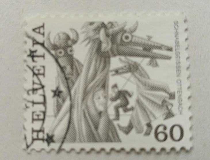 Známka - Švýcarsko - Filatelie