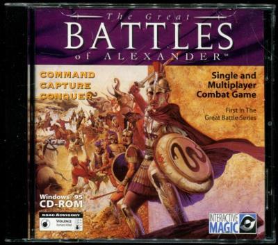 The great Battles of Alexandria, Hannibal, Caesar - 3pc hry windows 95