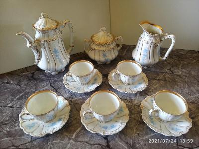 Starožitný porcelánový servis