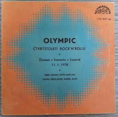 SP singl Olympic - Čtvrtstoletí Rock´N´Rollu