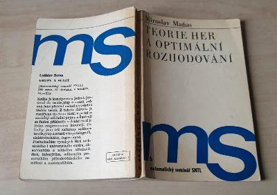Teorie her a optimální rozhodování - Miroslav Maňas (1974)