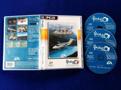 PC - FLIGHT UNLIMITED 3 (retro 1999) Top