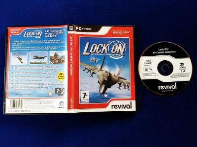PC - LOCK ON AIR COMBAT SIMULATION (retro 2003)  Top