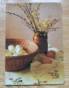 Pohled Veselé Velikonoce