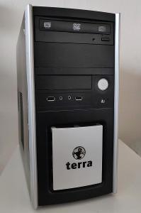 PC skříň Terra - microATX case - +DVD mechanika +USB