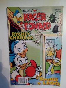 Časopis, Kačer Donald, č. 24/2002, pěkný stav