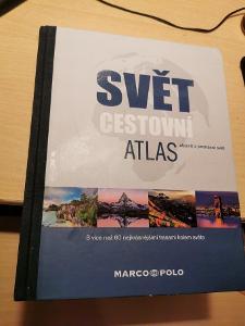 Svět cestovní atlas objevit a poznávat svět