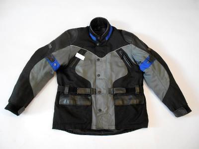 Textilní bunda BIKER vel. XL- odep. termovložka