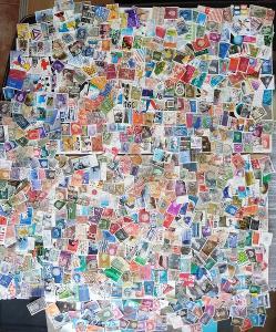 Každá jiná - poštovní známky Nizozemsko 660ks