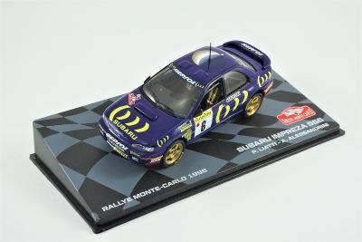 1:43 Eaglemoss Subaru Impreza 555 gr.A Rallye Monte Carlo 95 WRC Rally