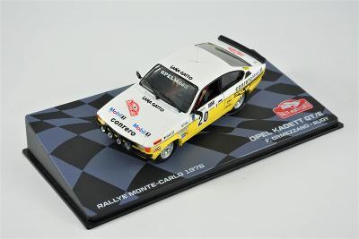 1:43 Eaglemoss Opel Kadett Rallye Monte Carlo 1978 Ormezzano wrc rally