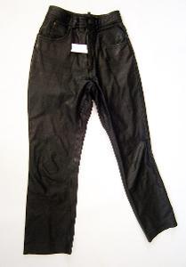 Kožené kalhoty dámské RABERG- pas: 68 cm