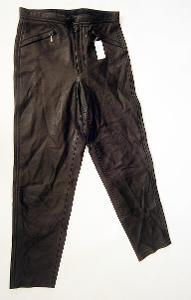 Kožené kalhoty dámské- pas: 74 cm